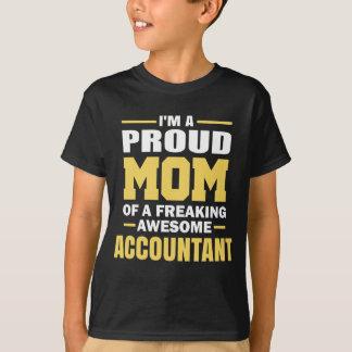 T-shirt Je suis une maman fière d'un comptable