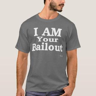 T-shirt JE SUIS votre renflouement (blanc)