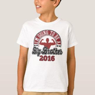 T-shirt Je vais être un frère 2016