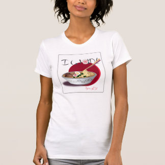 T-shirt Je veux la pièce en t de Ramen