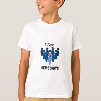 T-shirt Je vois Démocrate ! 2016