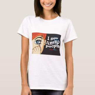 T-shirt Je vois des personnes d'Ambo