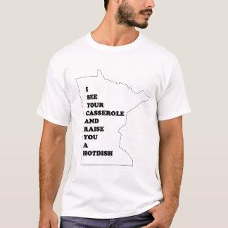 T-shirt Je vois votre cocotte en terre et vous élève un