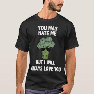 T-shirt Je vous aimerai toujours chemise de végétalien de