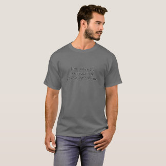 T-shirt Je vous corrige silencieusement suis grammaire