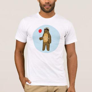 T-shirt Je vous leurrerai de retour avec des ballons