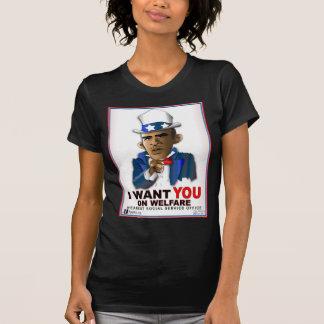 T-shirt Je vous veux sur l'aide sociale