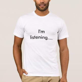 T-shirt J'écoute….