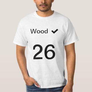 T-shirt Jersey en bois du capot #26