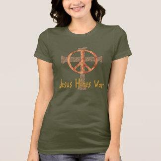 T-shirt Jésus déteste la guerre