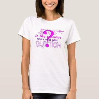 T-shirt Jésus est la réponse