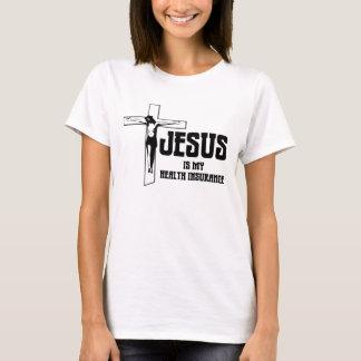 T-shirt Jésus est mon assurance médicale maladie
