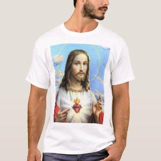 T-shirt Jésus et son coeur sacré
