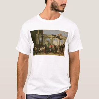 T-shirt Jésus guérissant le paralytique à la piscine