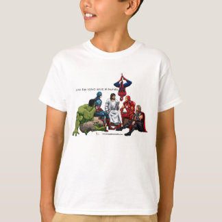 T-shirt Jesus le véritable héros