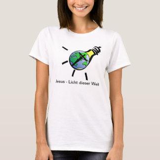 T-shirt Jesus - lumière de ce monde