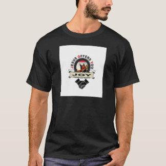 T-shirt Jésus vous offre le logo de joie