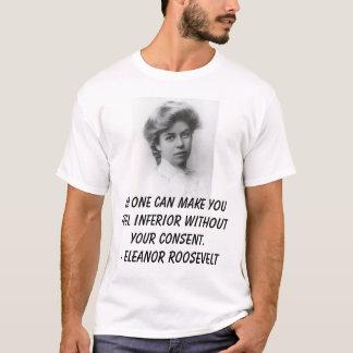 T-shirt Jeune Anna Eleanor Roosevelt 1898, personne peut