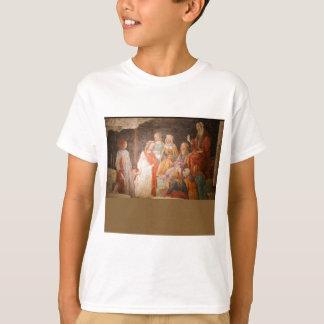 T-shirt Jeune homme salué par sept arts libéraux par