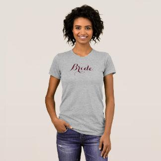 """T-shirt """"Jeune mariée """""""