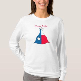 T-shirt Jeune mariée du Texas