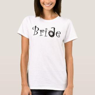 T-shirt jeune mariée libertine