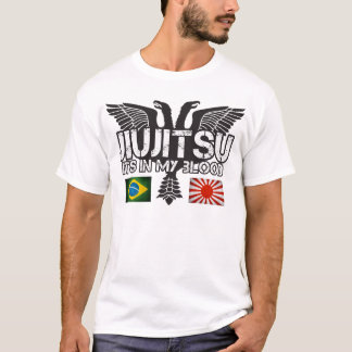 T-shirt JiuJitsu Brésil - chemise du Japon