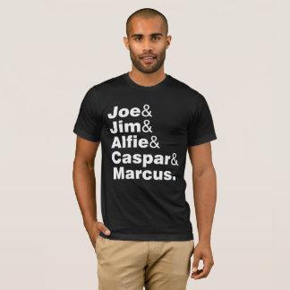 T-shirt Joe JIM Alfie Caspar Marcus
