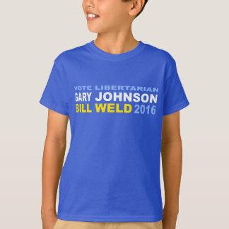 T-shirt Johnson-Soudure libertaire 2016 de vote