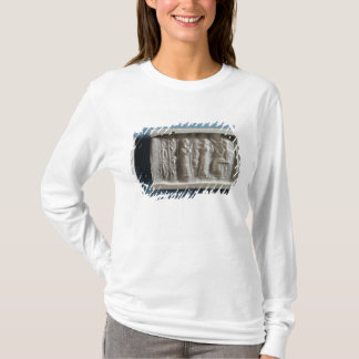 T-shirt Joint de cylindre dépeignant une évocation au