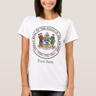 T-shirt Joint et devise d'état du Delaware