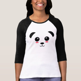 T-shirt Joli base-ball T de panda
