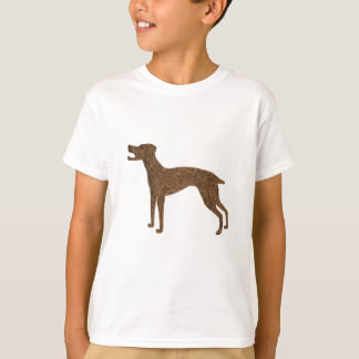 T-shirt Jolie conception de chien