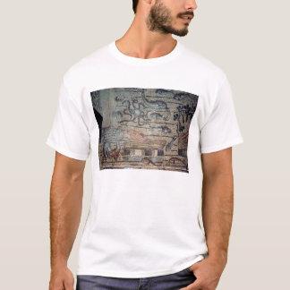 T-shirt Jonas craché par la baleine, détail d'un d