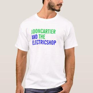 T-shirt Joon Cartier et le magasin électrique (blanc)