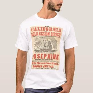 """T-shirt """"Josephine"""" à la publicité de la Californie"""