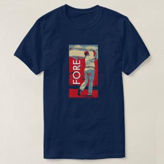 T-shirt Jouer au golf de Donald Trump