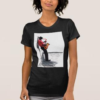 T-shirt Joueur de saxo 1