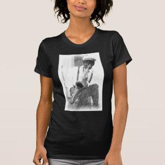 T-shirt Joueur de saxo par le cerf