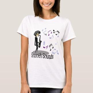 T-shirt Joueur de saxophone beatnik de jazz