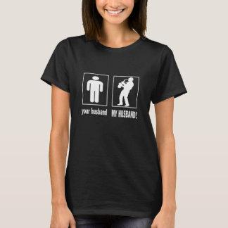 T-shirt Joueur de saxophone - mon mari