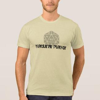 T-shirt Joueur naturel