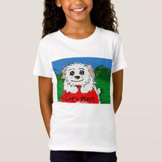 T-Shirt Jouons la chemise de Lincoln Oliver