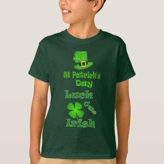 T-shirt Jour de la Saint Patrick - chance de l'Irlandais
