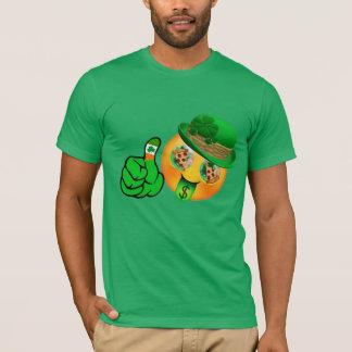 T-shirt Jour de la Saint Patrick chanceux de bière de