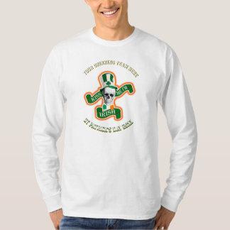T-shirt Jour de la Saint Patrick drôle personnalisé buvant