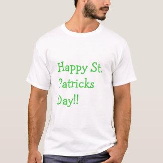 T-shirt Jour de la Saint Patrick heureux