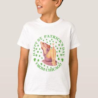 T-shirt Jour de la Saint Patrick heureux - de Chicago