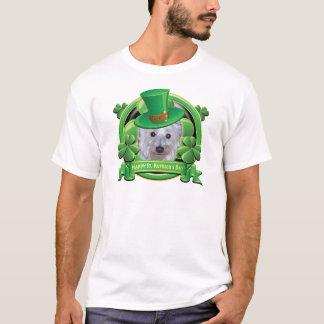 T-shirt Jour de la Saint Patrick heureux Westie