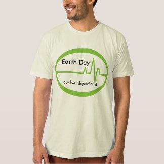 T-shirt Jour de la terre ECG